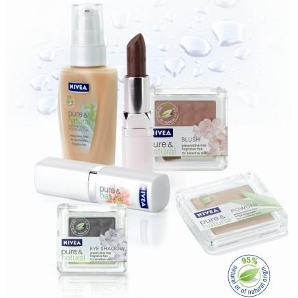 Nivea passe au vert avec sa nouvelle gamme Pure & Natural