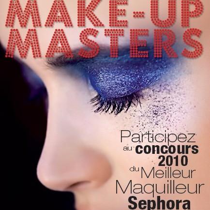 Rendez-vous au Sephora Champs Elysées pour les Make Up Masters Europe