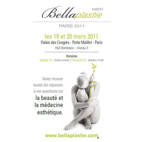 Rendez-vous au Salon Bellaplastie, les 19 et 20 mars à Paris