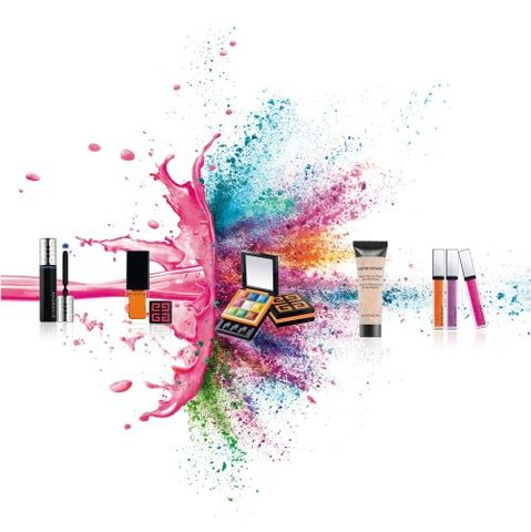 Collection Acid Summer, le maquillage color block selon Givenchy