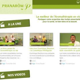 Pranarôm lance Pranarôm TV
