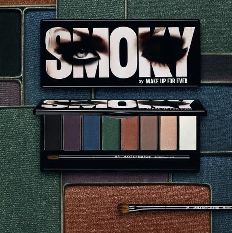 La Palette Smoky, le it accessoire de la rentrée par Make up for ever