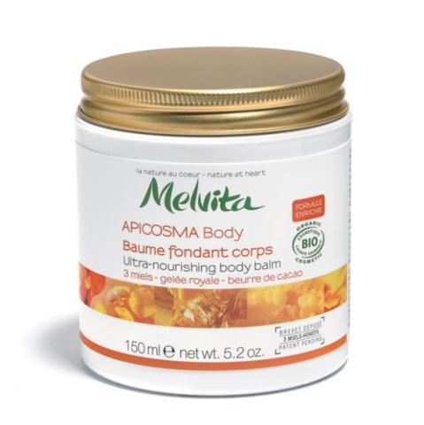 Apicosma Body, des nouveaux soins haute nutrition chez Melvita