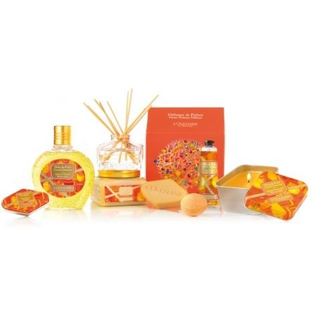 Des gourmandises parfumées pour les fêtes chez L'Occitane