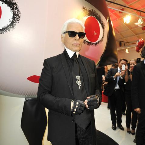 Karl Lagerfeld pour Shu Uemura
