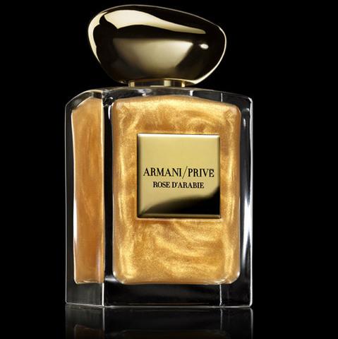 La Rose d'Arabie d'Armani s'habille de lumière