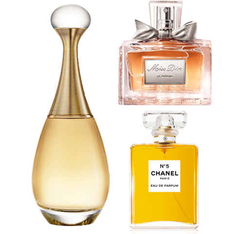 Top 10 des parfums préférés des Françaises
