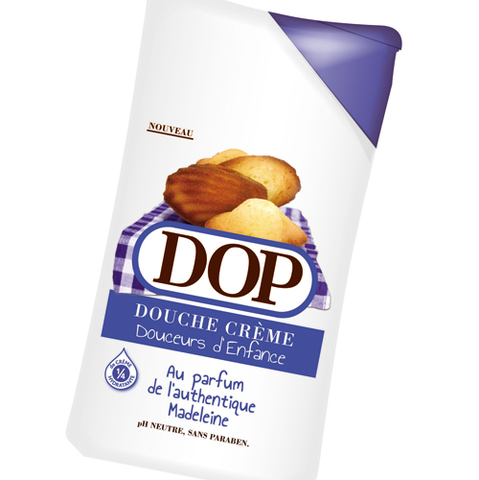 Dop, nous replonge en enfance avec ses gels douches