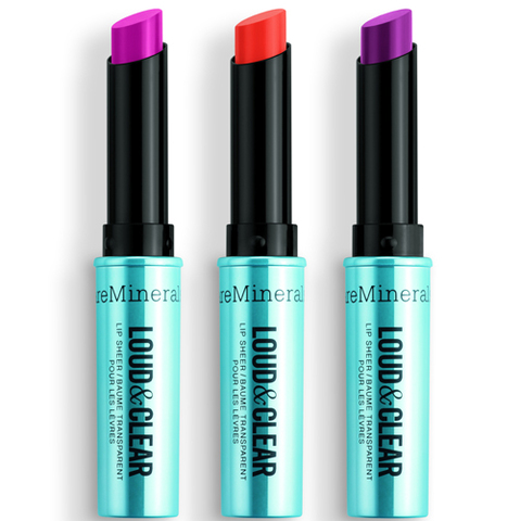 On adore... Les baumes lèvres translucides de bareMinerals