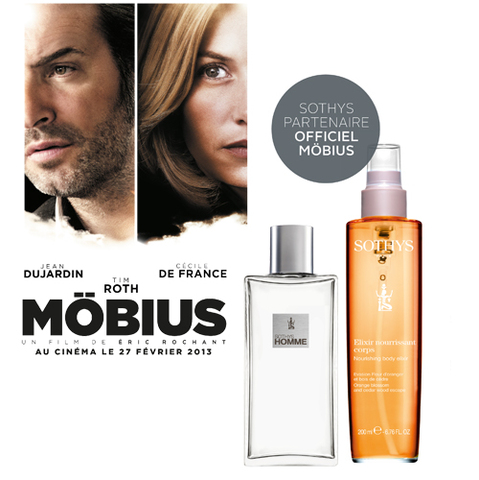 Sothys célèbre la sortie de Möbius avec Jean Dujardin