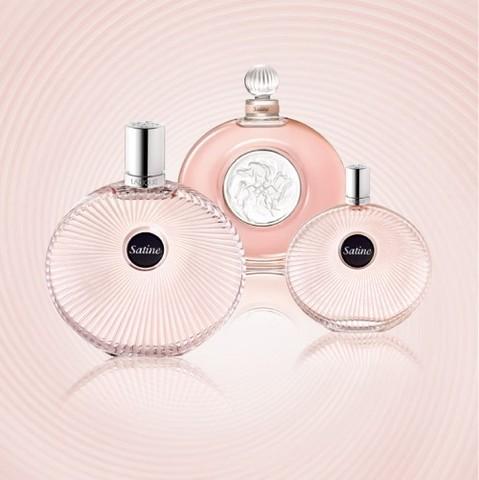 Satine, le nouveau parfum féminin de la Maison Lalique