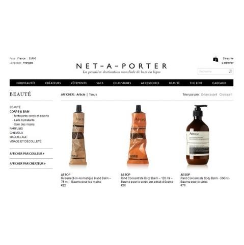 Net-à-porter.com se met à la beauté