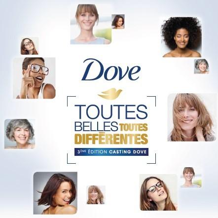 Participez au Grand Casting Dove Toutes Belles Toutes Différentes