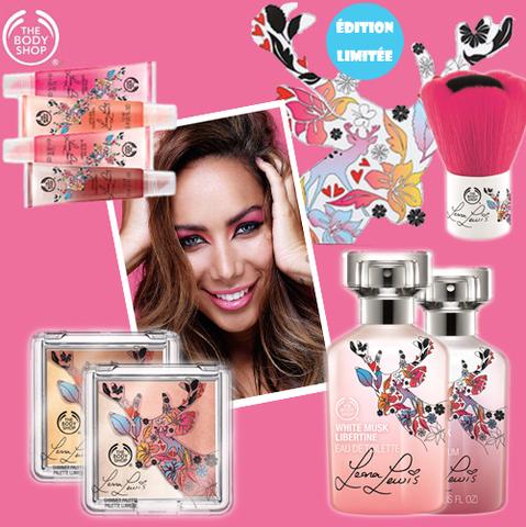 Leona Lewis, ambassadrice de The Body Shop