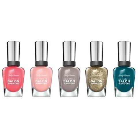 On adore.. Les vernis Complete Salon Manicure de Sally Hansen