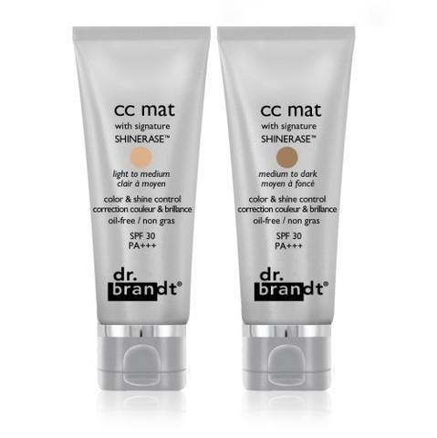 CC mat, la CC Cream des peaux mixtes et grasses signée Dr. Brandt