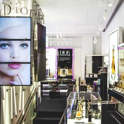 Une boutique éphémère 100% dédiée au Parfums et à la Beauté Dior
