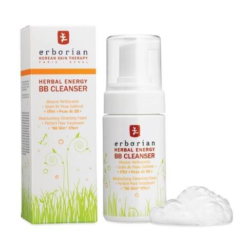 Herbal Energy BB Cleanser, la mousse effet peau de bébé par Erborian