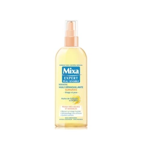 L'Huile Démaquillante Surgras de Mixa, l'alliée des peaux sèches et sensibles