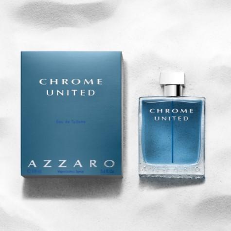 Chrome United, le parfum de l'amitié par Azzaro