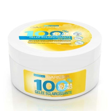 Des cheveux ensoleillés avec 100% Ultra Blond de Garnier