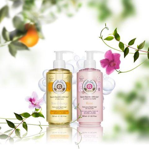 On adore... Les Savons liquides parfumés Roger&Gallet