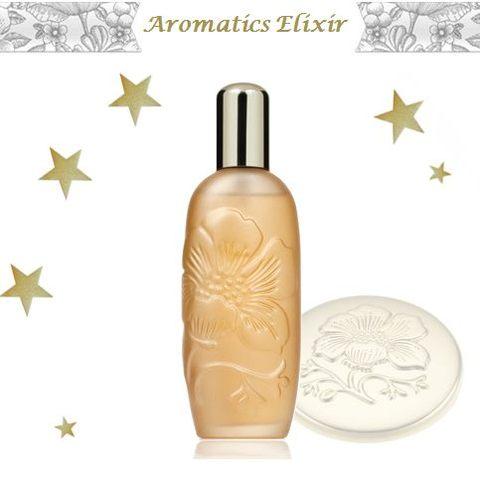 Aromatics Elixir se pare d'habits de lumière chez Clinique