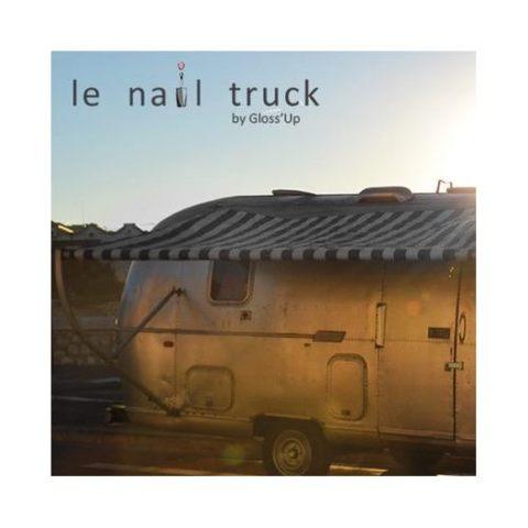 Le Bar à Beauté Gloss'UP invente le Nail Truck
