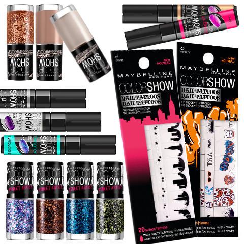 ColorShow joue la carte du Nail Art chez Gemey-Maybelline
