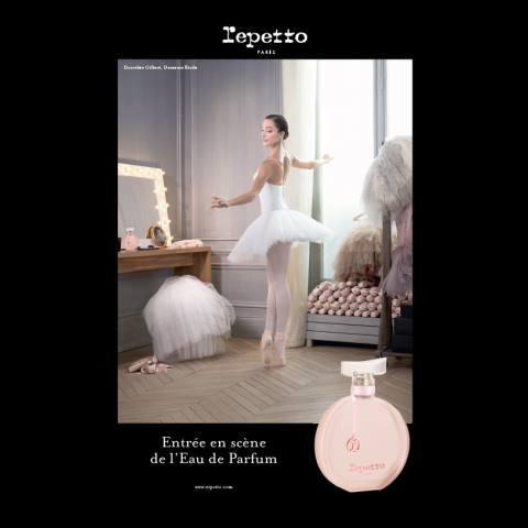 L'Eau de Parfum Repetto entre en scène