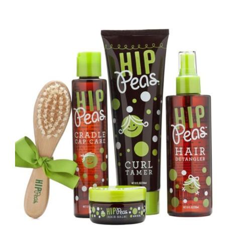 Hip Peas prend soin des cheveux des petits