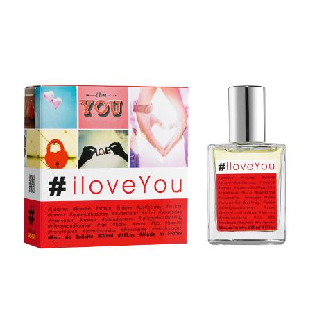 #iloveyou, le parfum des e-beautystas amoureuses