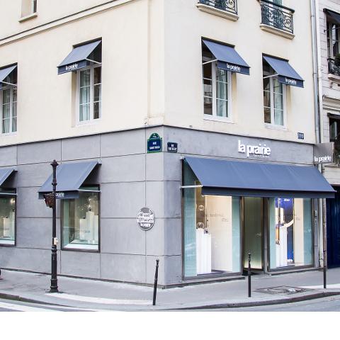 La Prairie ouvre sa première boutique à Paris