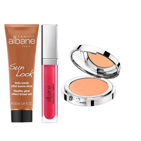 Lumières d'été, le nouveau look maquillage signé Camille Albane