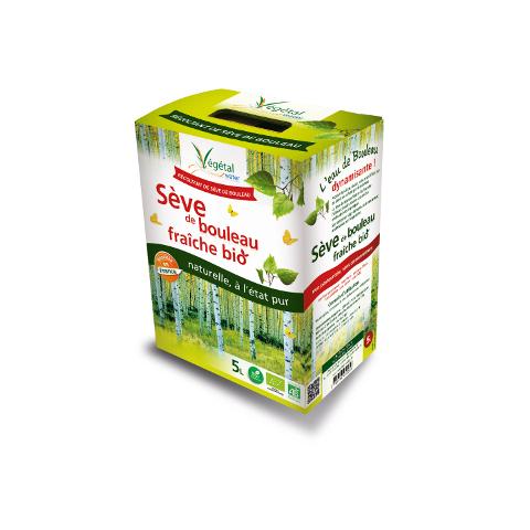 Faites une cure de Sève de Bouleau fraîche avec Végétal Water