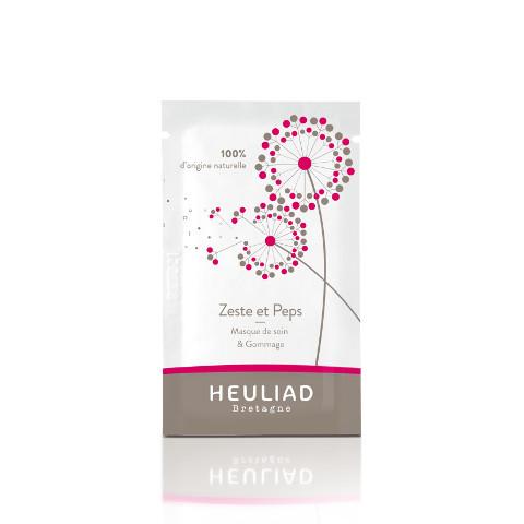 Zeste & Peps, le masque-gommage d'Heuliad