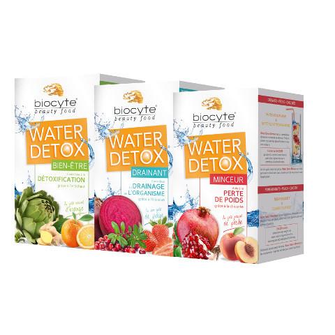 Water Detox, les beauty-drinks de l'été par Biocyte