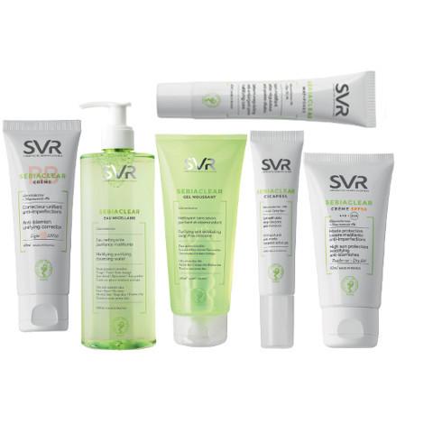 On dit bye-bye en douceur à l'acné avec Sebiaclear de SVR