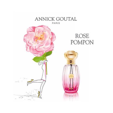Rose Pompon, parfum de joie de vivre par Annick Goutal