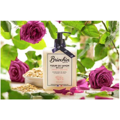 Fleur de Savon, une ligne de savons d'exception signée Briochin