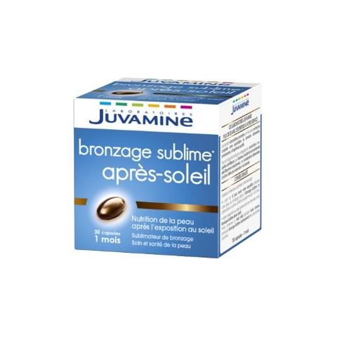 Un après-soleil en capsules chez Juvamine