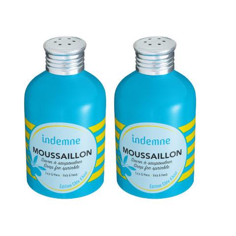 Moussaillon, le savon à saupoudrer signé Indemne