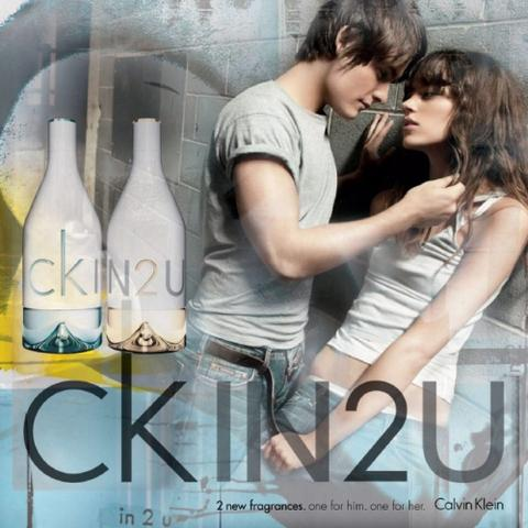 ck IN2U, duo de parfums par Calvin Klein
