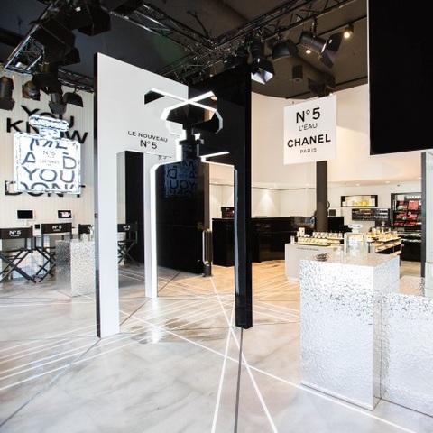 Chanel Parfums Beauté s'installe sur les Champs-Elysées