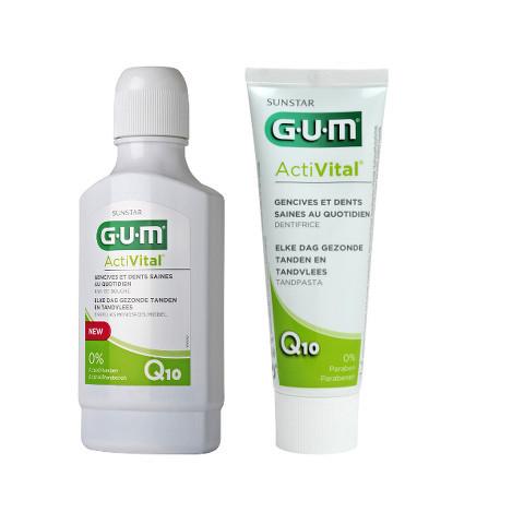 Des dents et des gencives saines avec ActiVital de Gum