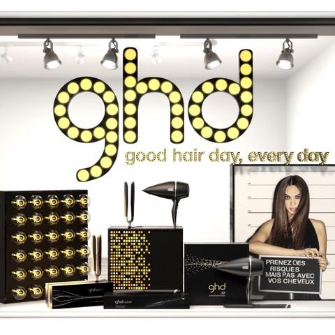 ghd ouvre son premier pop up store à Paris