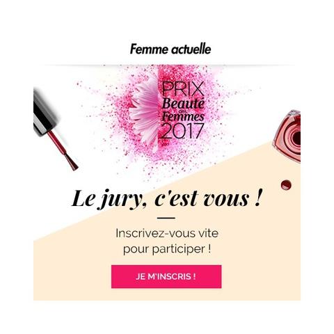 Prix de la Beauté des Femmes 2017 : inscrivez-vous !