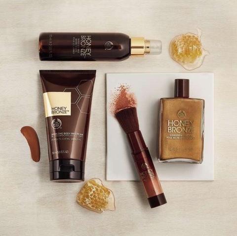 Bronzez futé sans soleil avec Honey Bronze chez The Body Shop
