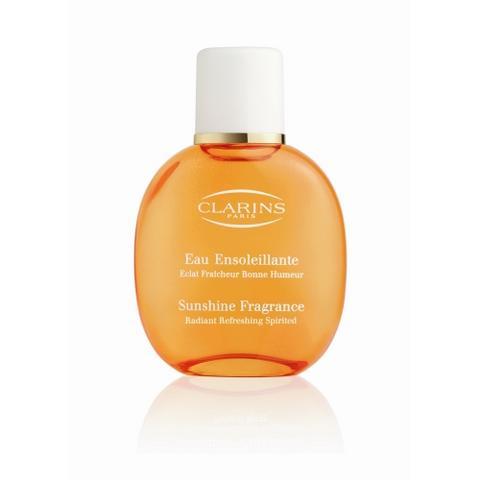 L\'Eau Ensoleillante, le nouveau parfum soin de Clarins