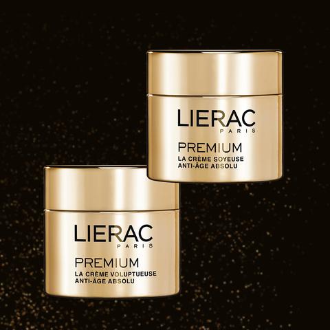 Un collector en or pour les 10 ans de Premium chez Lierac